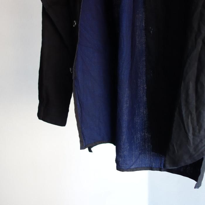 12月の製作 / classic german indigolinen shirt_e0130546_12550344.jpg