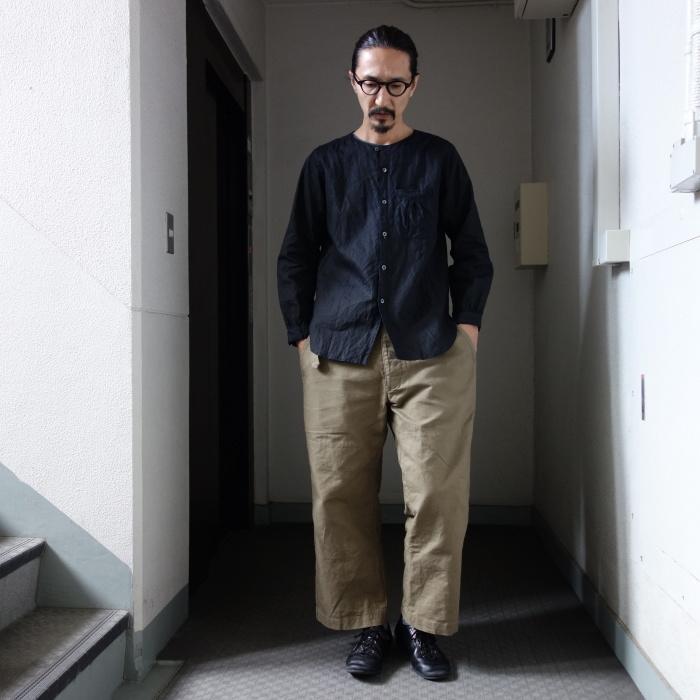 12月の製作 / classic german indigolinen shirt_e0130546_12574590.jpg