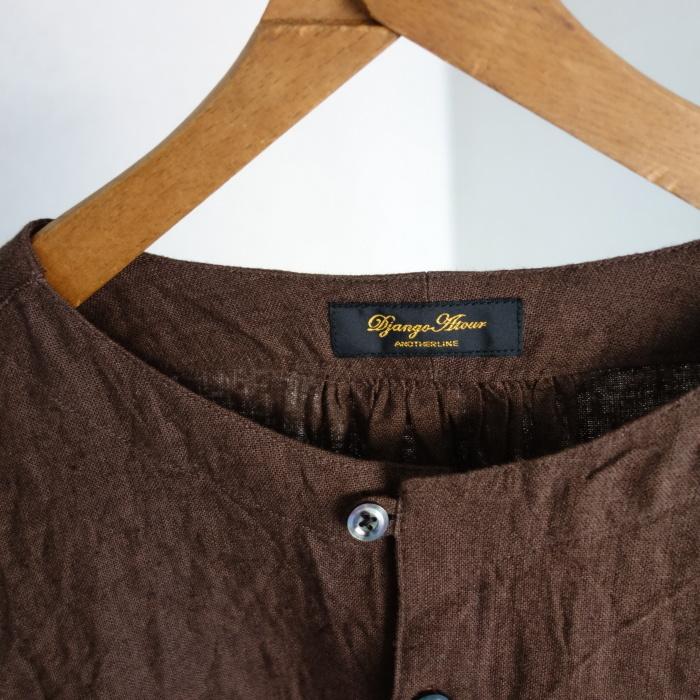 12月の製作 / classic german heavylinen shirt_e0130546_13071092.jpg