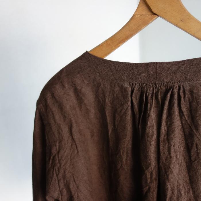 12月の製作 / classic german heavylinen shirt_e0130546_13081862.jpg