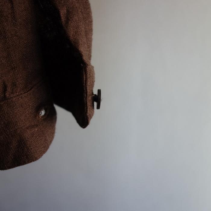 12月の製作 / classic german heavylinen shirt_e0130546_13091719.jpg