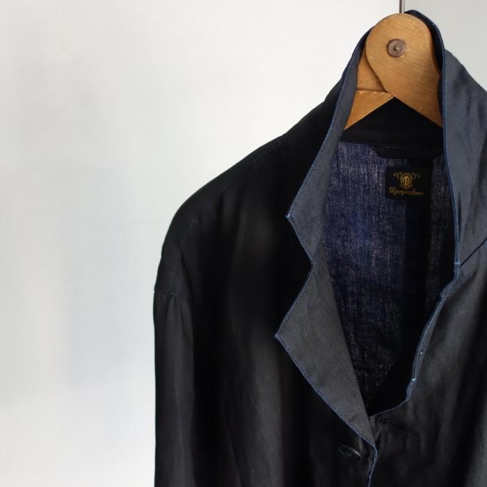12月の製作 / DA maquignon indigolinen coat_e0130546_13295592.jpg