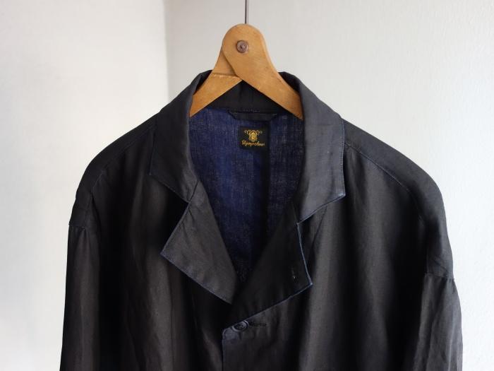 12月の製作 / DA maquignon indigolinen coat_e0130546_13311010.jpg