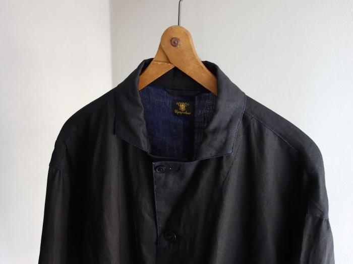 12月の製作 / DA maquignon indigolinen coat_e0130546_13312368.jpg