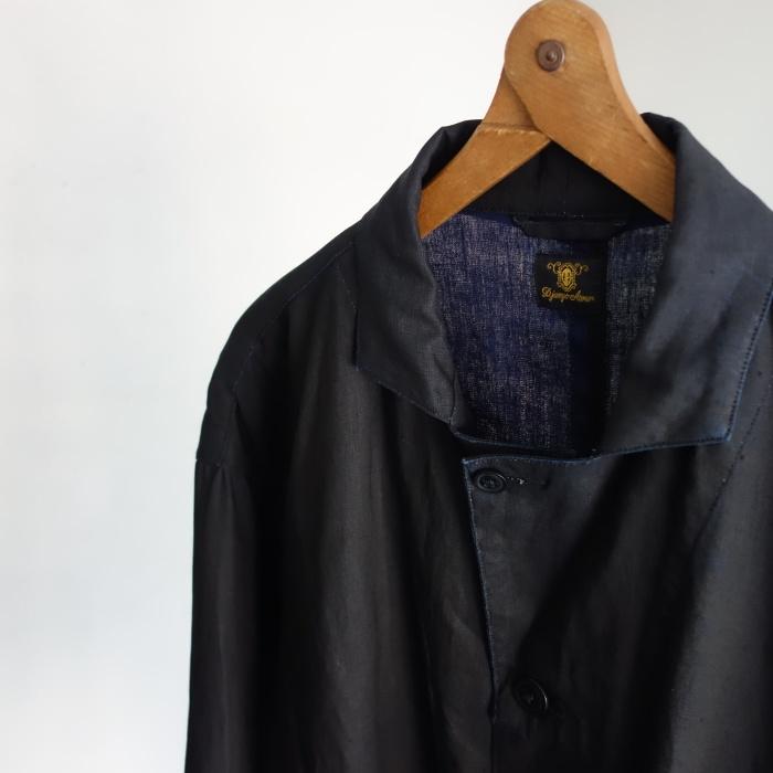 12月の製作 / DA maquignon indigolinen coat_e0130546_13372544.jpg