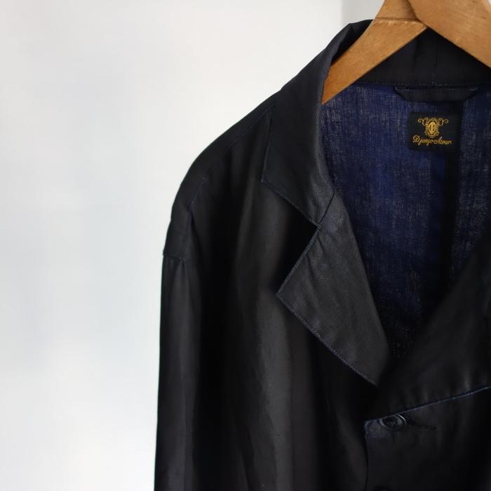 12月の製作 / DA maquignon indigolinen coat_e0130546_13374770.jpg