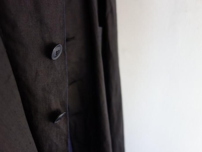 12月の製作 / DA maquignon indigolinen coat_e0130546_13382647.jpg