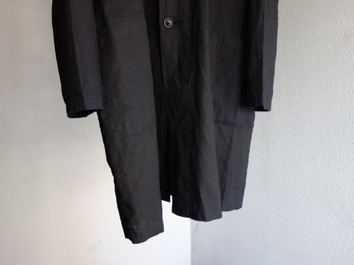 12月の製作 / DA maquignon indigolinen coat_e0130546_13384379.jpg
