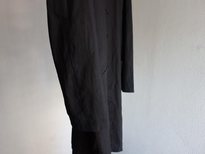 12月の製作 / DA maquignon indigolinen coat_e0130546_13403602.jpg