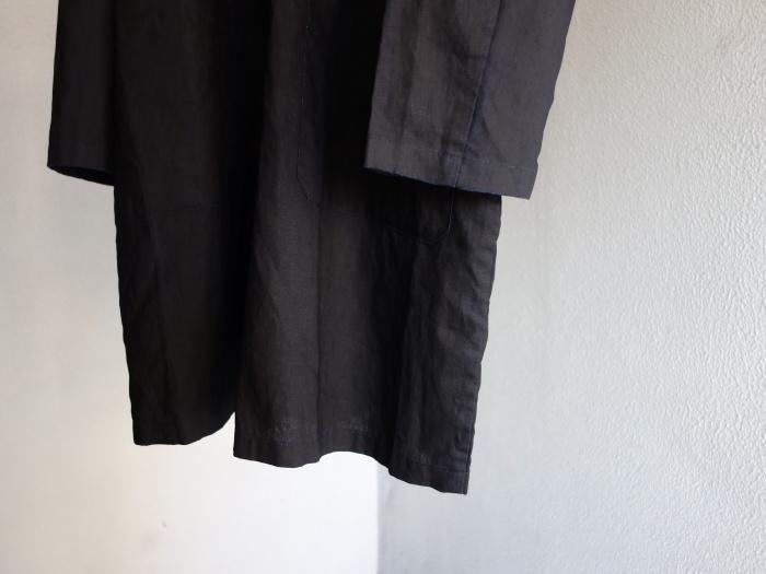 12月の製作 / DA maquignon indigolinen coat_e0130546_13421114.jpg