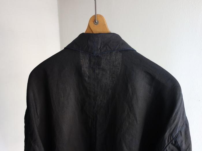 12月の製作 / DA maquignon indigolinen coat_e0130546_13432163.jpg