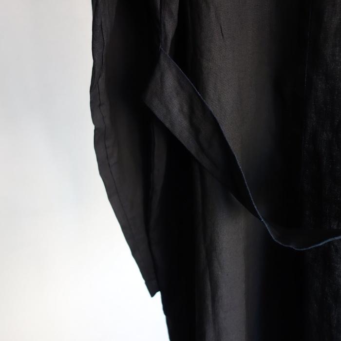 12月の製作 / DA maquignon indigolinen coat_e0130546_13434568.jpg