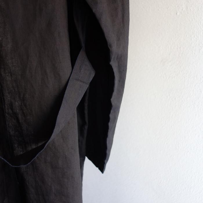12月の製作 / DA maquignon indigolinen coat_e0130546_13440397.jpg