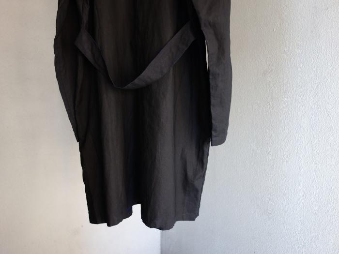 12月の製作 / DA maquignon indigolinen coat_e0130546_13442489.jpg
