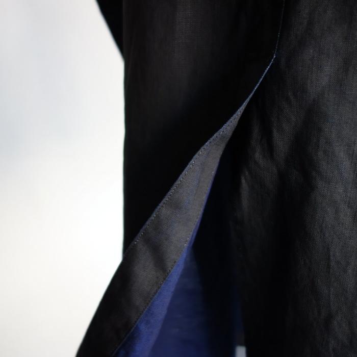 12月の製作 / DA maquignon indigolinen coat_e0130546_13444412.jpg