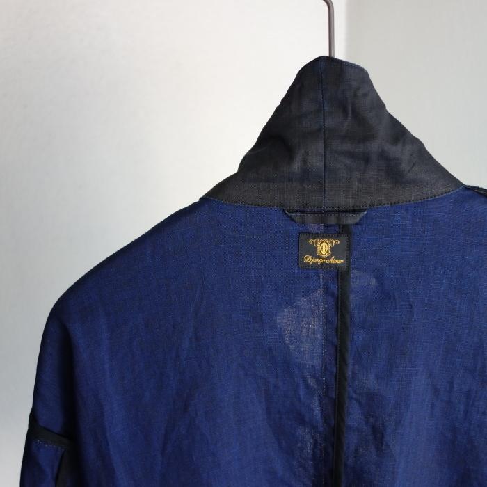 12月の製作 / DA maquignon indigolinen coat_e0130546_13445783.jpg