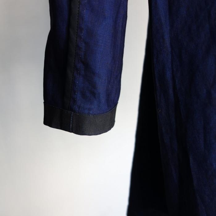 12月の製作 / DA maquignon indigolinen coat_e0130546_13451038.jpg