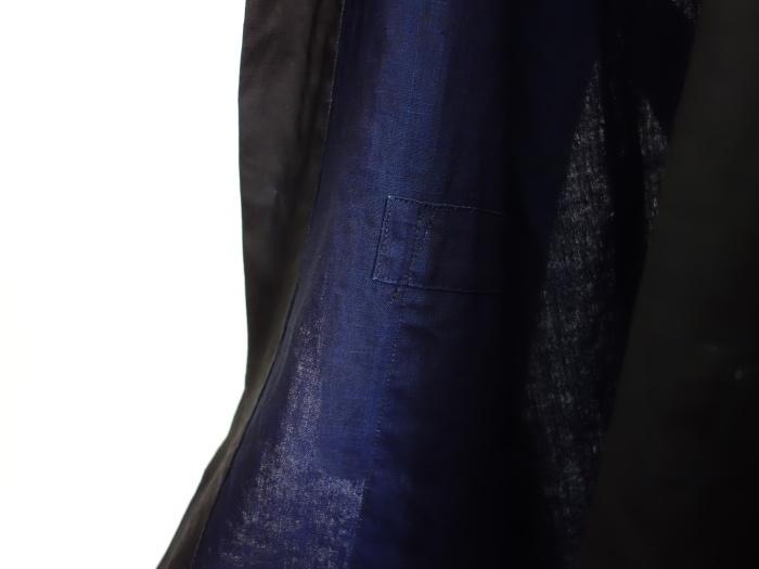 12月の製作 / DA maquignon indigolinen coat_e0130546_13461511.jpg