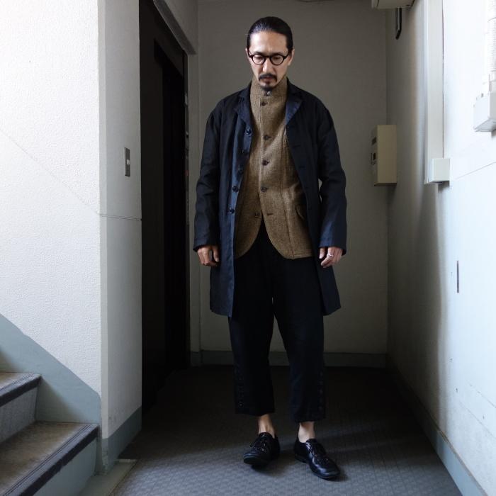 12月の製作 / DA maquignon indigolinen coat_e0130546_13510625.jpg
