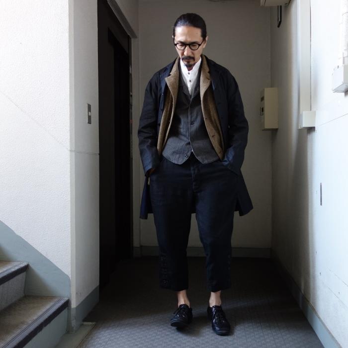 12月の製作 / DA maquignon indigolinen coat_e0130546_13514900.jpg
