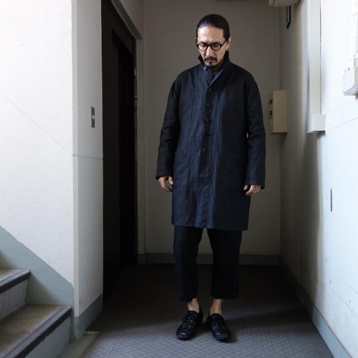 12月の製作 / DA maquignon indigolinen coat_e0130546_13522272.jpg
