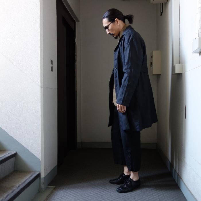 12月の製作 / DA maquignon indigolinen coat_e0130546_13524819.jpg