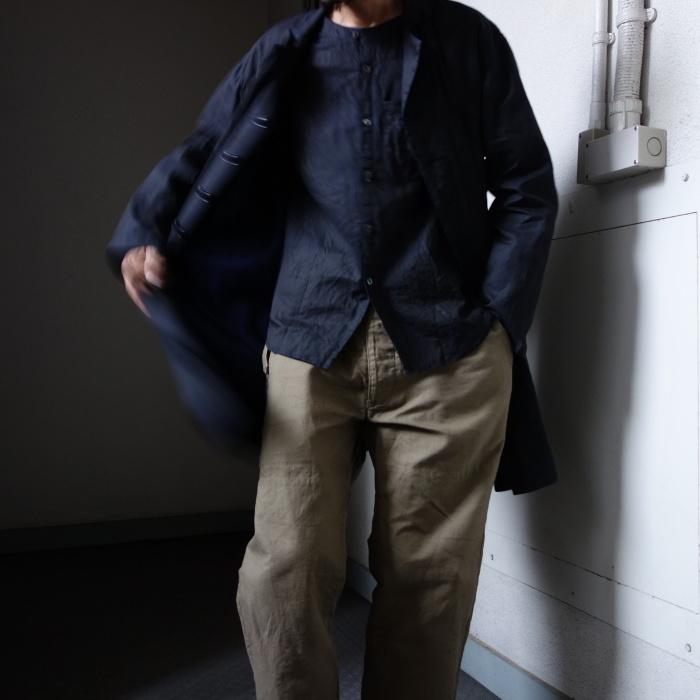 12月の製作 / DA maquignon indigolinen coat_e0130546_13534585.jpg