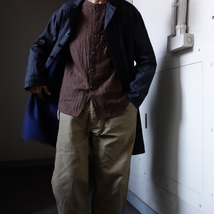 12月の製作 / DA maquignon indigolinen coat_e0130546_13540586.jpg