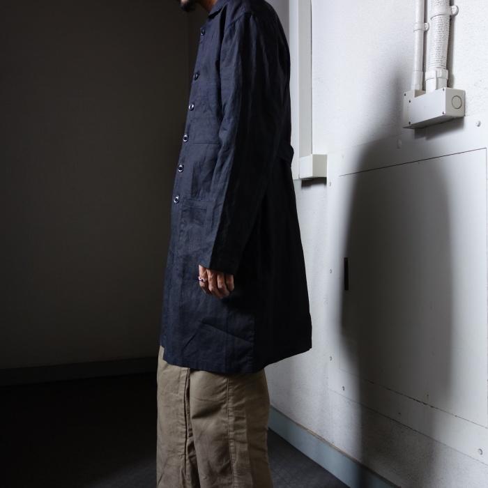 12月の製作 / DA maquignon indigolinen coat_e0130546_13545658.jpg