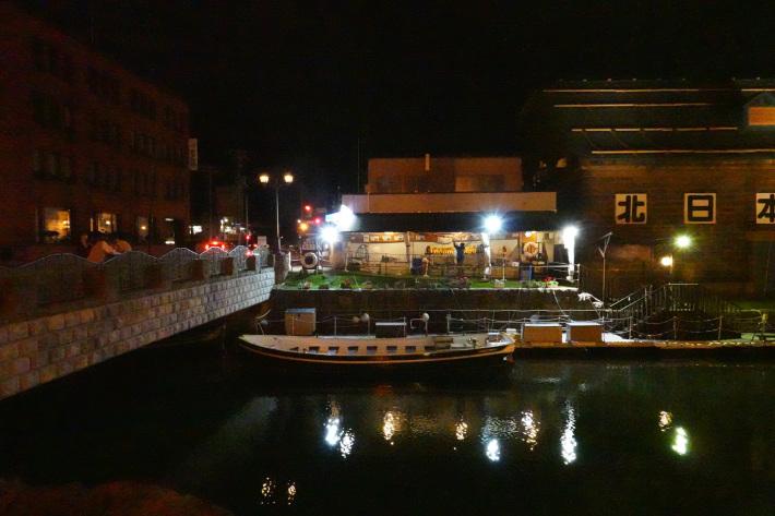 小樽運河の夜景 と 周辺の歴史的建造物_f0117059_22434054.jpg