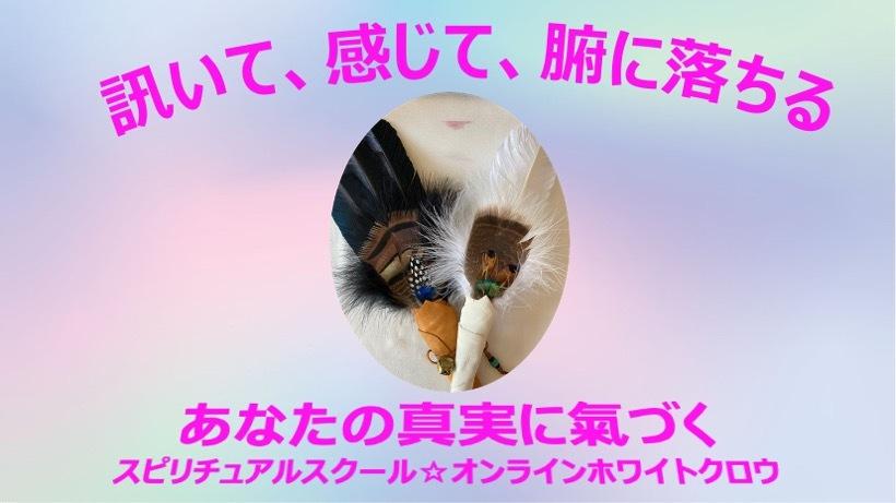 ☆スピリチュアルスクール・オンラインホワイトクロウ 2020年10月開校致します〜♪(๑ᴖ◡ᴖ๑)♪☆_a0110270_14334022.jpg