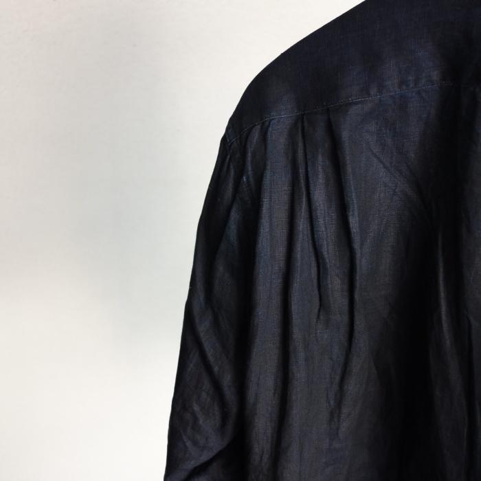 12月の製作 / classic german indigolinen shirt_e0130546_15502706.jpg
