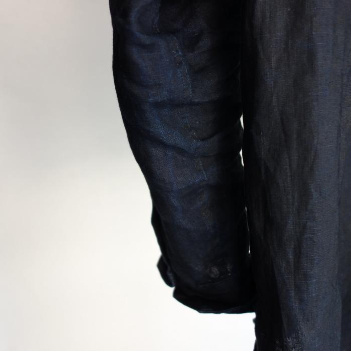 12月の製作 / classic german indigolinen shirt_e0130546_15504647.jpg