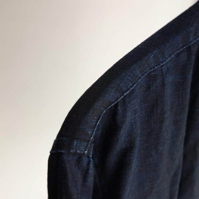 12月の製作 / classic german indigolinen shirt_e0130546_15511046.jpg
