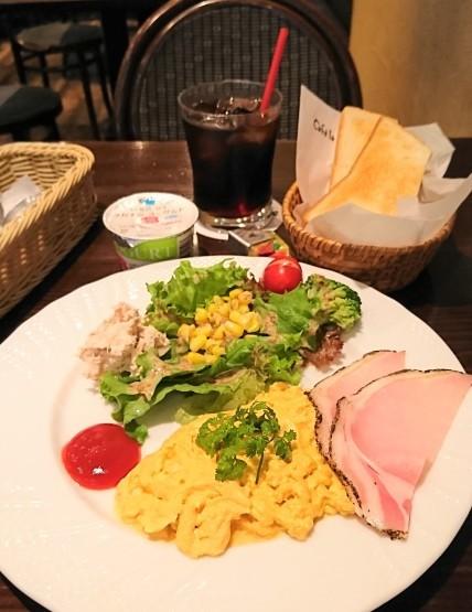 正統派モーニング・Cafe la Voie(カフェラヴォワ)@新宿西口_f0337357_16305574.jpg