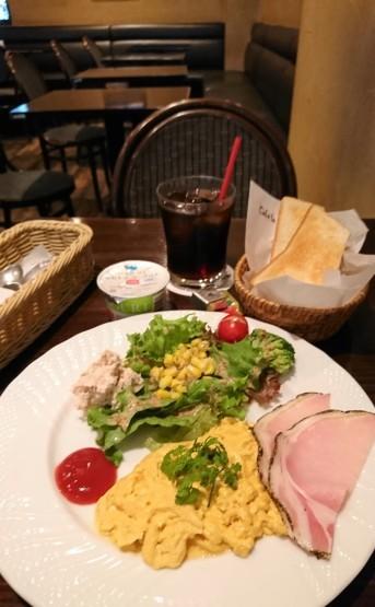 正統派モーニング・Cafe la Voie(カフェラヴォワ)@新宿西口_f0337357_18110989.jpg