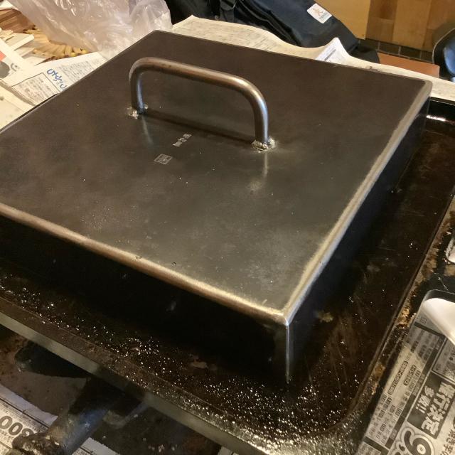 鉄板で焼売を焼く_a0334793_12190275.jpg