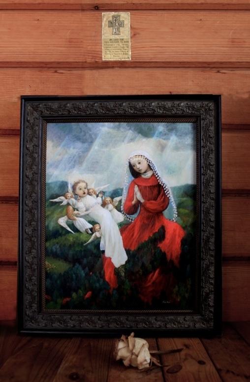 小さな幸せ🕯小さな祈り くるはらきみ 絵画世界_c0203401_12573952.jpeg