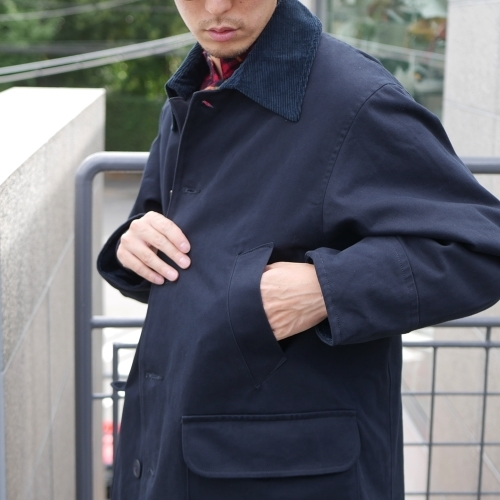 KATO\' Work Soutien Collar Coat_e0247148_16240586.jpg