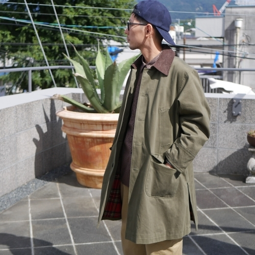 KATO\' Work Soutien Collar Coat_e0247148_16261915.jpg