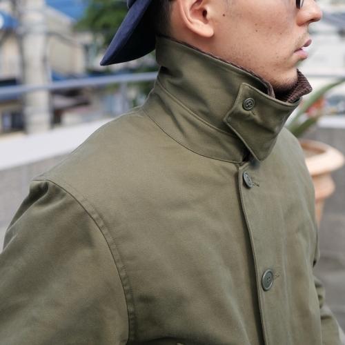 KATO\' Work Soutien Collar Coat_e0247148_16273164.jpg