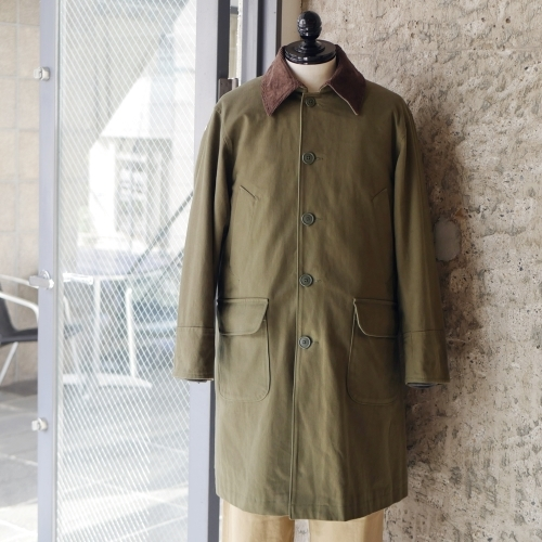 KATO\' Work Soutien Collar Coat_e0247148_16283155.jpg