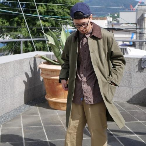 KATO\' Work Soutien Collar Coat_e0247148_16341989.jpg