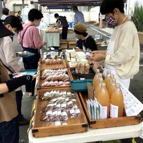 vol.116 はけのおいしい朝市 in Murakoshi Parking ありがとうございました!_a0123451_17183719.jpg