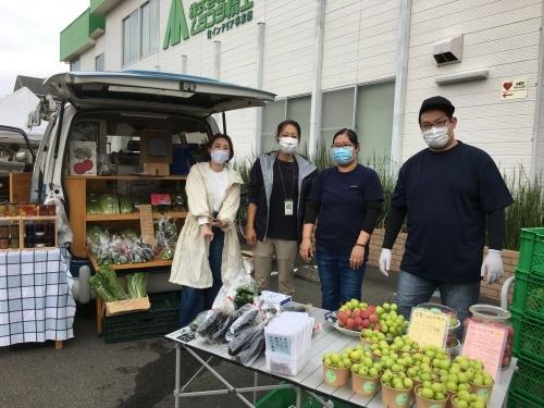 vol.116 はけのおいしい朝市 in Murakoshi Parking ありがとうございました!_a0123451_17223710.jpg