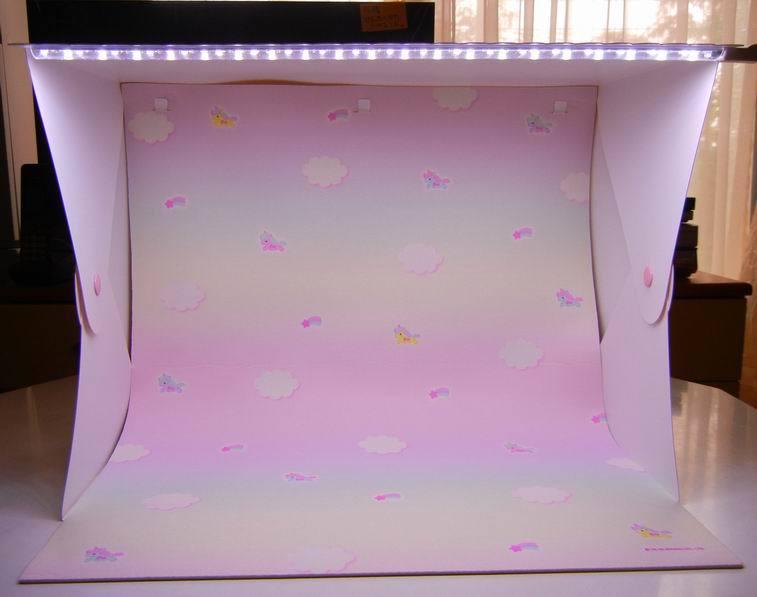 サンリオ の LEDライト付き簡易スタジオ_f0097157_19100317.jpg