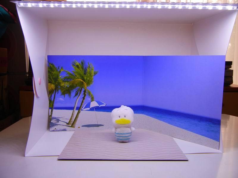 サンリオ の LED付き簡易スタジオ  その2_f0097157_19552631.jpg