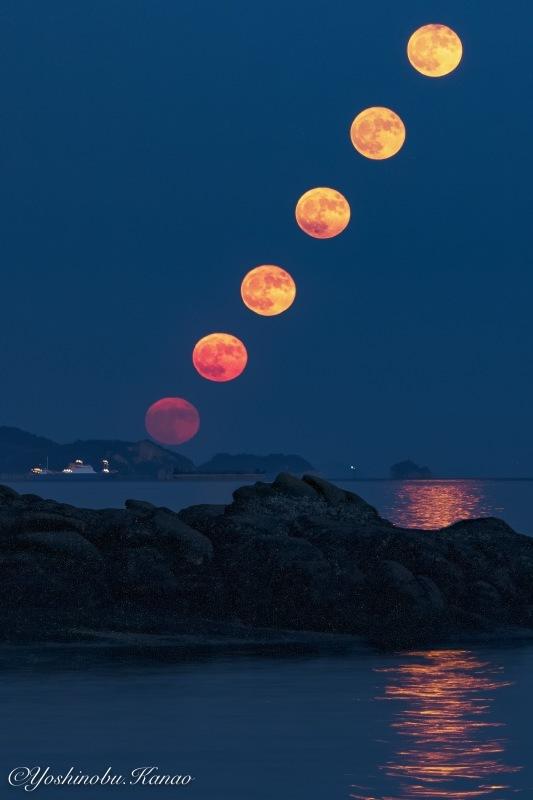 10月最初の満月_b0222467_18410555.jpg