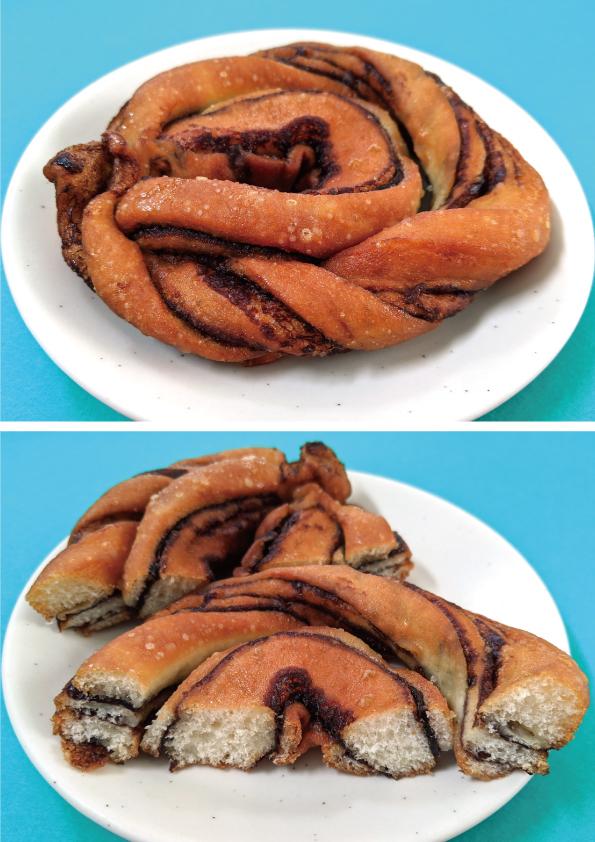 【袋ドーナツ】山崎製パン「チョコデニッシュドーナツ」【ドーナツっぽくない】_d0272182_15274259.jpg