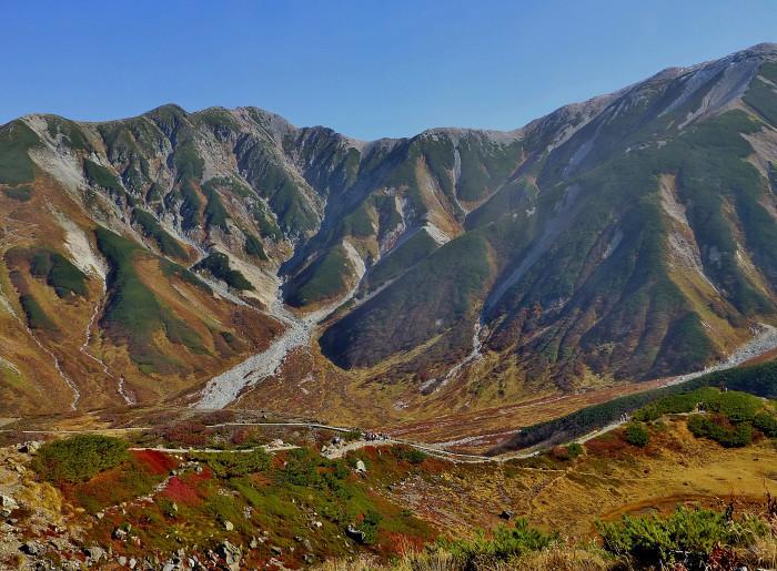 立山徘徊 紅葉を見る1・室堂~天狗平_f0374895_22162197.jpg